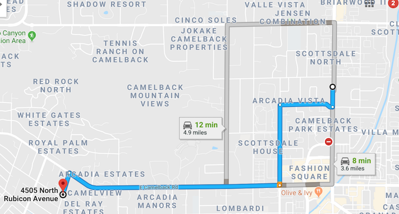 Frank Lloyd Wright in Phoenix